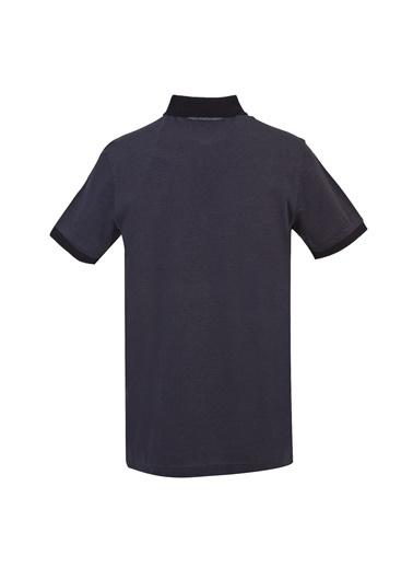 Kiğılı Polo Yaka Regular Fit Merserize Tişört Siyah
